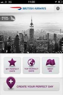 British Airways launches Perfect Day App