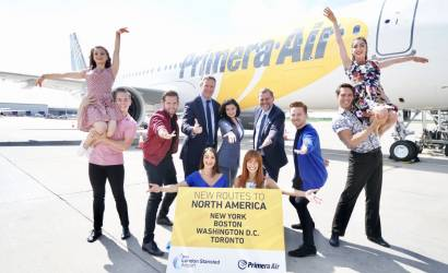 Primera Air takes off for New York for first time