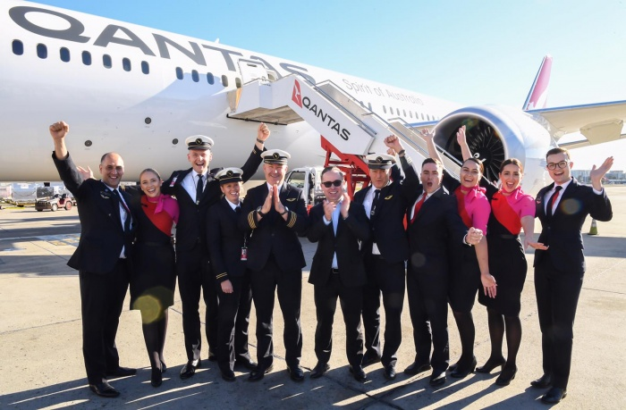 Qantas tests ultra-long-haul service from New York to Sydney