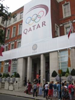 Qatar gets hospitality gold at London 2012 Olympic Games