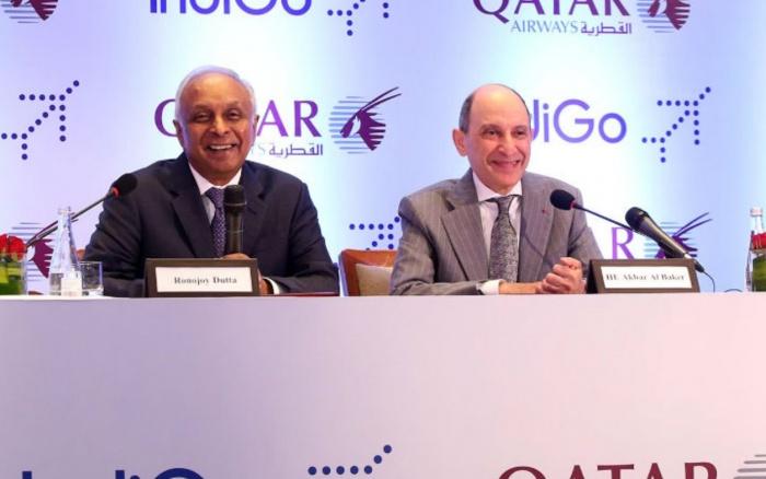 Qatar Airways signs IndiGo codeshare partnership