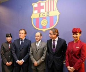 Qatar Airways inks deal with FC Barcelona