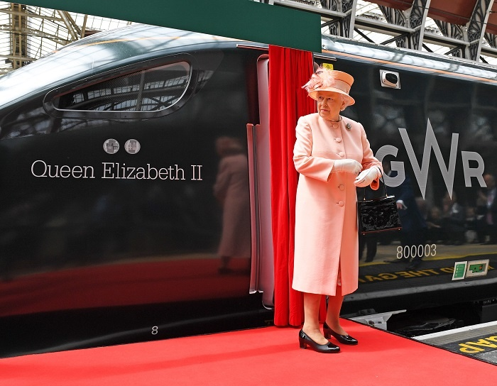 Her Majesty the Queen recreates first ever royal train trip with Great Western Railway