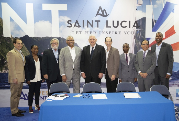 Carnival joins with Royal Caribbean for St Lucia joint venture