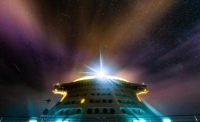 Explorer of the Seas passengers treated to view of Perseid Meteor Shower