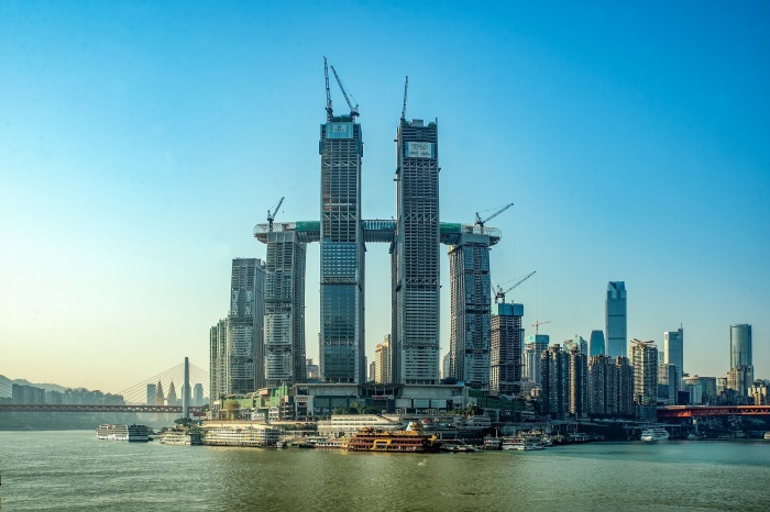 CapitaLand tops out on Raffles City Chongqing development in China