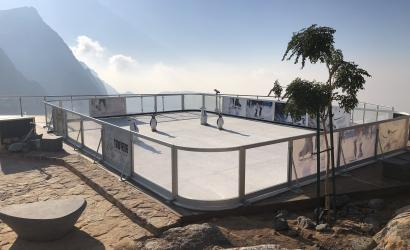 Ras Al Khaimah welcomes Jebel Jais ice rink