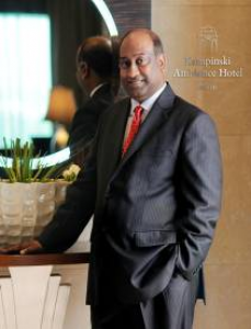 Ramasawmy appointed general manager at Kempinski Ambience Hotel Delhi