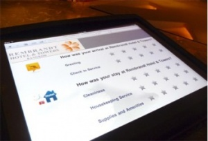 Rembrandt & Apple offer an interactive touch-screen tool
