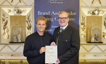 Rosberg appointed brand ambassador with Kempinski