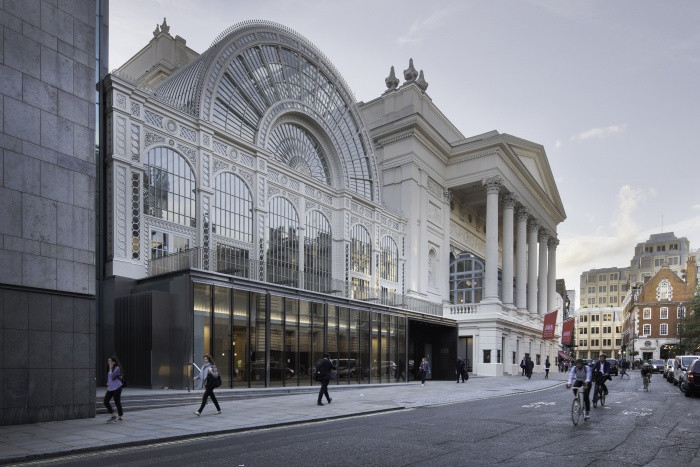 Royal Opera House opens new public spaces following £51m investment