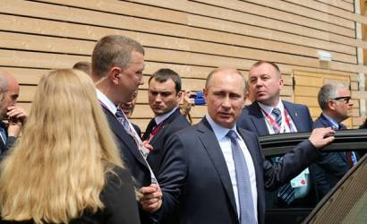 Breaking Travel News investigates: Russian president Vladimir Putin visits Expo 2015 in Milan