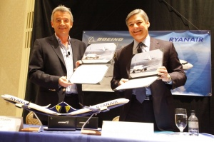 Boeing completes largest ever European deal with Ryanair