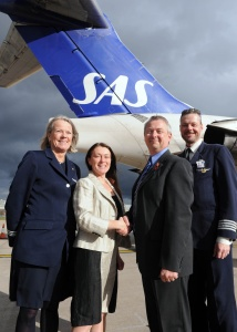 SAS launches new flights to Birmingham