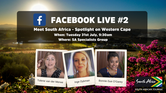 South African Tourism launches Facebook Live series in UK