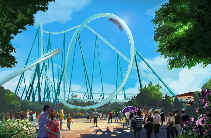 SeaWorld San Diego unveils plans for latest rollercoaster