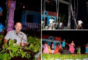 Seychelles impresses with the official opening of 2012 Festival Kreol