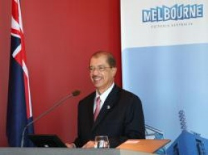 Seychelles President arrives in Australian state of Victoria on official visit