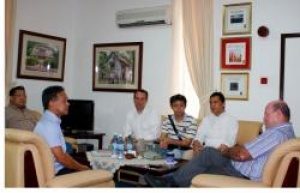 Seychelles Minister for Tourism meets MD of the Banyan Tree Hotels
