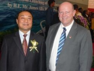 Seychelles Tourism boss meets Beijing Tourism VP