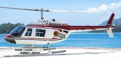 Delight as paradise islands of Seychelles was regained by chopper team