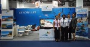 Seychelles at the Asia Dive Expo ADEX 2012