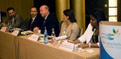 Seychelles Ministers of Tourism and of Transport meet French tour operators in Paris