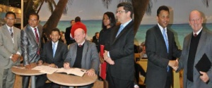 WTM 2011 sees Seychelles and Mauritius sign MOU for cooperation
