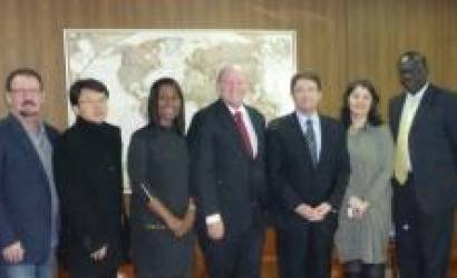 Seychelles Tourism Delegation pays courtesy call on UNWTO head in Madrid