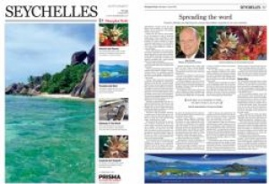 Seychelles features in Shanghai daily newspaper