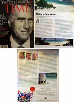 Seychelles riding a wave says Time Magazine