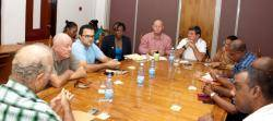 Seychelles authors and composers society meets tourism industry's association