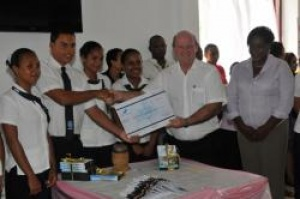 Seychelles Tourism Academy students make their contribution for island's Festival Kreol