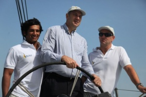 Olympic Hero Sir Steve Redgrave Sets Sail In Abu Dhabi