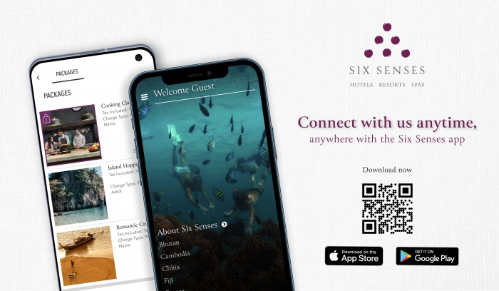 Six Senses launches new mobile app to travellers