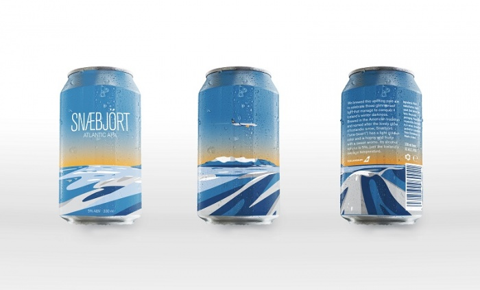 Icelandair introduces new on-board beer inspired by seasonal light