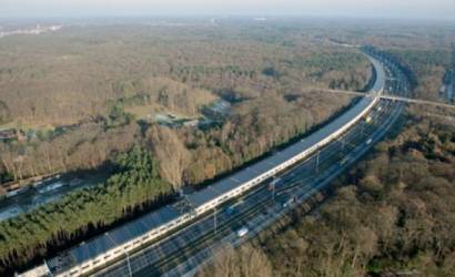 Europe's first solar-powered rail tunnel opens