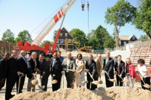 Governor Patrick Celebrates Groundbreaking for Talbot Avenue Commuter Rail Station