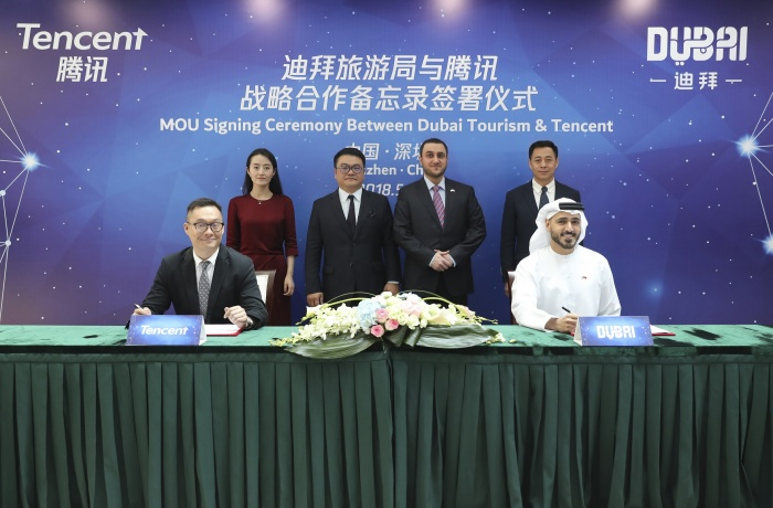 Dubai partners with Tencent as destination seeks to boost China presence