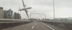 TransAsia Airways plane crash kills scores in Taipei