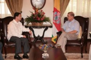 UNWTO secretary general calls on Seychelles president Michel