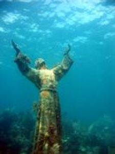 New Christ of the Deep at home in the Underwater Sculpture Park