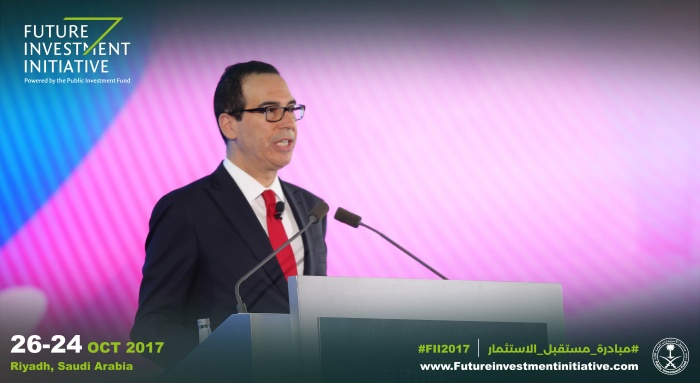 US treasury secretary Mnuchin backs Saudi Vision 2030