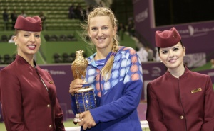 Victoria Azarenka takes Qatar Total Open ladies tennis championships title