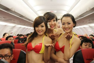 VietJetAir fined over impromptu onboard beauty pageant