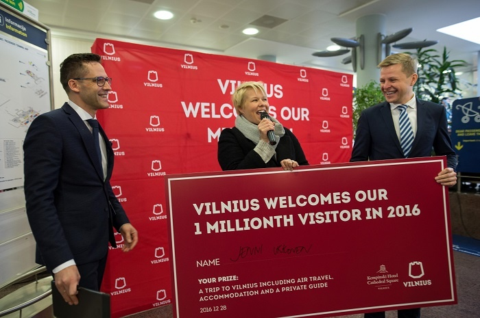 Vilnius reaches latest visitor numbers milestone