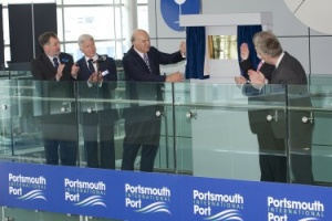 Vince Cable heads for the coast