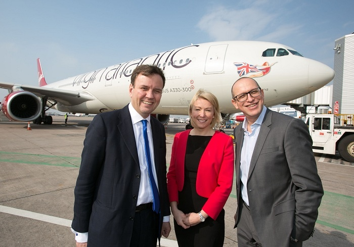 Virgin Atlantic kicks off US expansion for Manchester Airport
