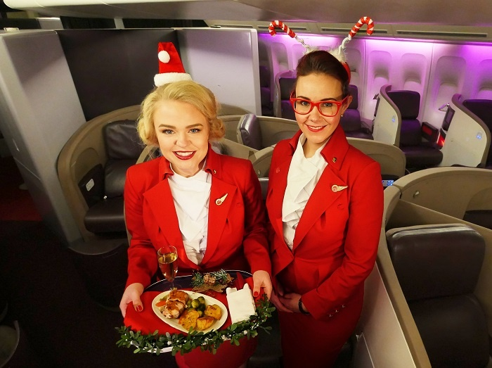 Virgin Atlantic to bring festive feast to skies