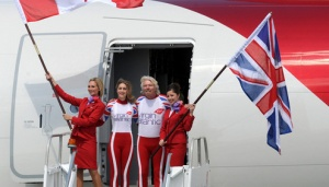 Virgin Atlantic celebrates new London to Vancouver route